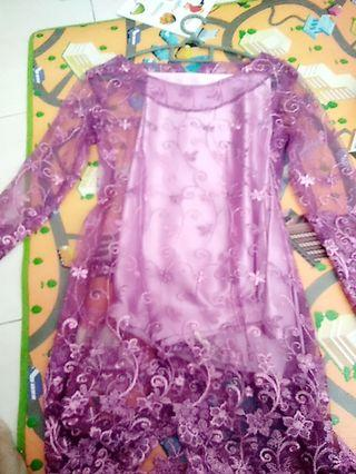 Baju kurung lace #GayaRaya