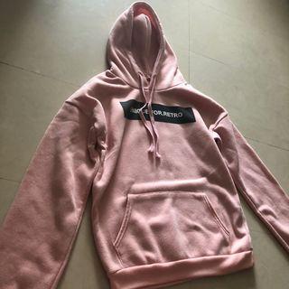 🚚 pink hoodie