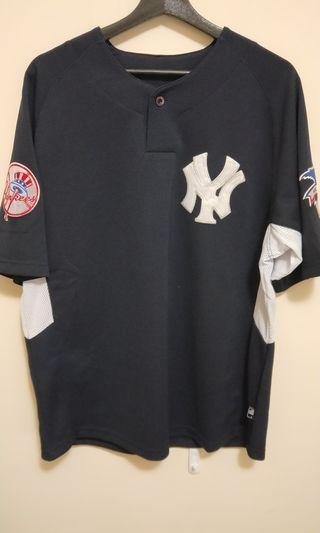 🚚 MLB世界大賽 洋基王健民球衣
