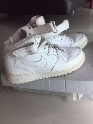 Nike Air Force 1 WHITE Mid '07