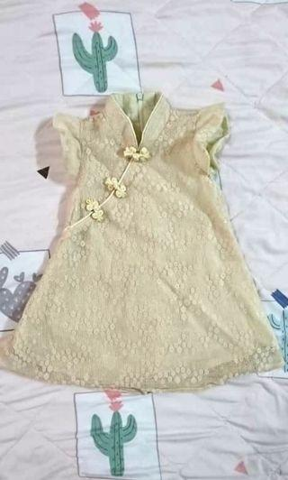 Baby cheongsam dress