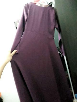 Dress (with front Zip) #GayaRaya