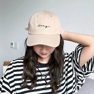 英文刺繡帽
