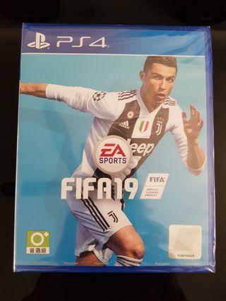 🚚 PS4 FIFA 19 BRAND NEW WITH SEALED!!!
