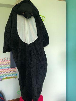 Bear costume romper