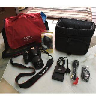 #OYOHOTEL  CANON EOS 500D DSLR Camera – with Image Stabilizer Extended Lens (FREE Camera Bag & Carrier Bag, 32GB SD Card, SteinZeiser SZ-938 Tripod & Other Accessories)