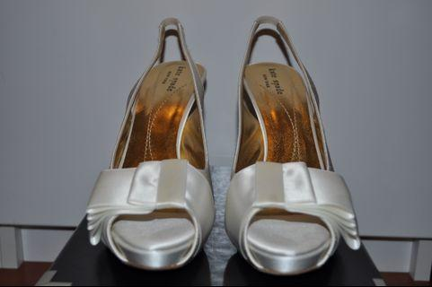 Kate Spade Ivory Wedding shoes Size 8.5