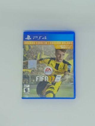 Dijual Fifa 17 Original Deluxe Version untuk PS4