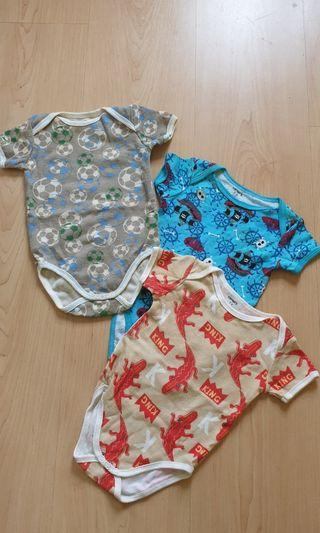 Authentic Carter's Rompers - 3 pieces