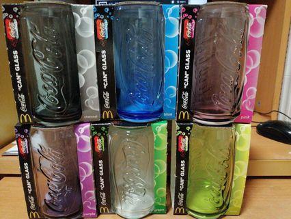 麥當勞 x 可口可樂 特別版玻璃杯 全套六款