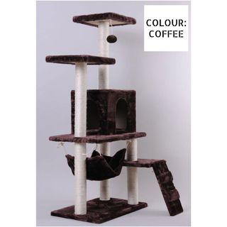 Cat Scratching Tree (only coffee available instock)