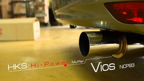 Buying Toyota Vios NCP93 HKS Exhaust