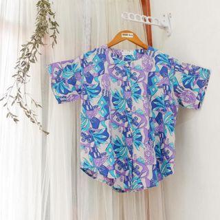 Baju Pantai Biru