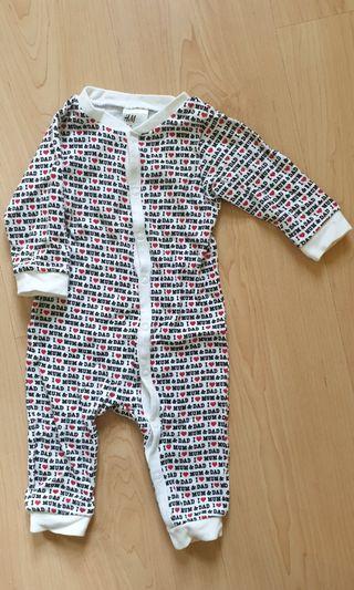 H&M Sleepsuit - 2 pieces
