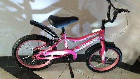 """FASTKID 16 """" CHILDREN BICYCLE"""