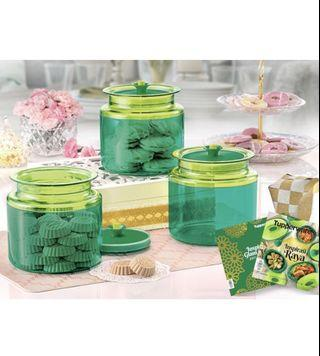 Tupperware Counterpart green- 3ea