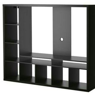 Price Reduced!!  Ikea White TV console / Shelve