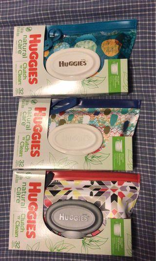 Huggies wet wipes clutch 濕紙巾袋