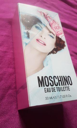 全新Moschino 小清新 粉紅女性淡香水 50ml+5ml試用