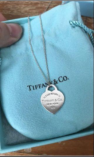 🚚 Tiffany & Co. Necklace (Return To Tiffany's Medium Sterling Silver)