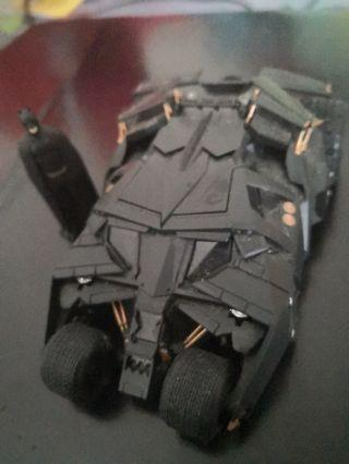 Batmobile Maize 1:43 scale with LEDs