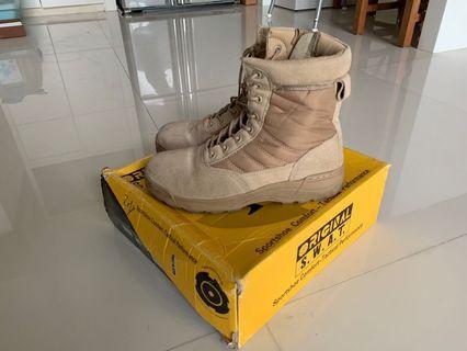 美軍戰術靴子 SWAT 沙漠色