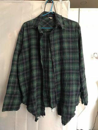 Knitted flannel vintage