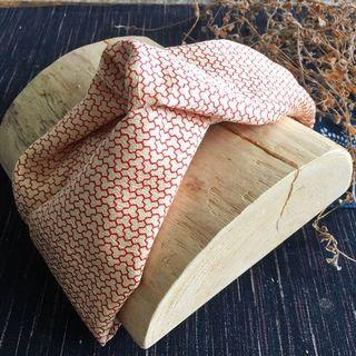 日本和服純絲布料手工髮帶