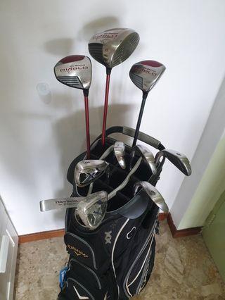 Callaway Golf Set(Diablo Driver/3&5wood+X20 irons set) ! GOOD Deal