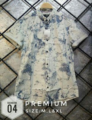 kemeja premium H&M  Material cotton import