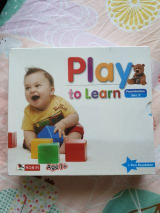 🚚 Educational play to learn CDs