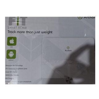 全新未開封適合送禮最高性價比智能體脂電子磅!Archon Fit 環保USB充電body mass weight scale body fat