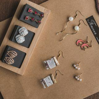 Mother's day gift set | Earrings | Card | Flower