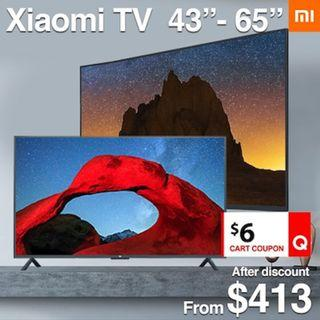Xiaomi Smart Android 4K TV 43 50 55 58 65 inch Local seller 1 year warranty