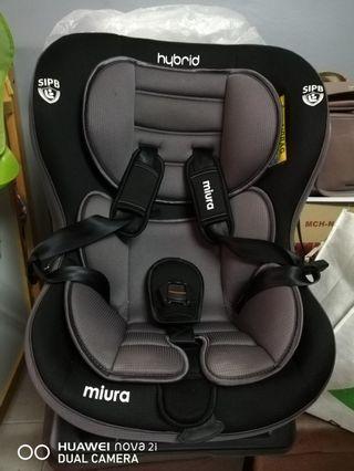 Hybrid Miura car seat