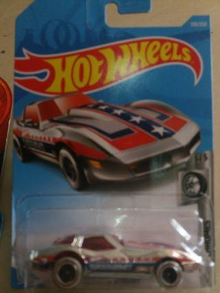 Hot wheels Corvette Stungray rth