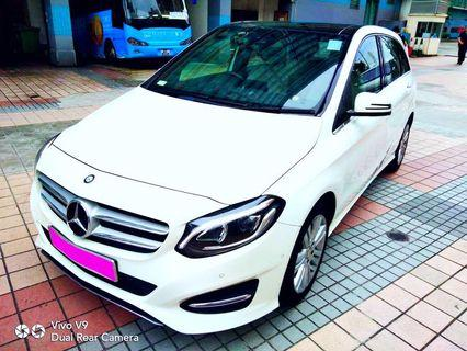 MERCEDES-BENZ B200 1.6cc 2015