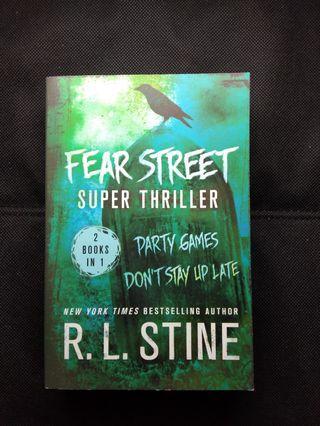 Fear Street Super Thriller ( 2 Books In 1 ) By R. L. Stine