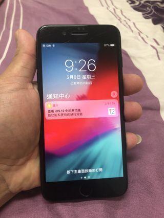 🚚 【出售】:apple 7 plus 128G霧黑 【外觀】:外觀有一些使用痕跡 【配件】:盒裝配件完整沒有附耳機 【保固】:過保手機功能都正常 【地點】:目前台中地區皆可面交 【聯絡】: