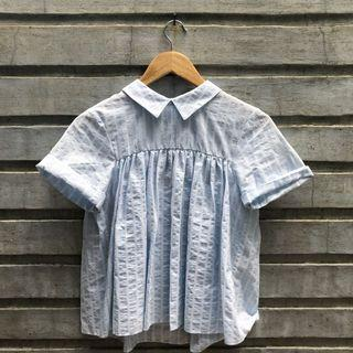Blouse with back details