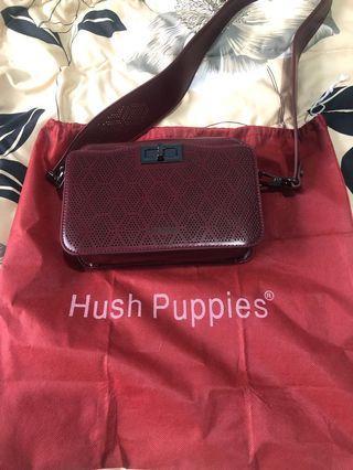Hush puppies sling bag 100% ori