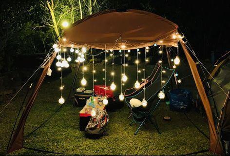 🚚 ◕新竹全新現貨!!!◕ 浪漫神器 LED許願球 露營燈燈串。共有7種不同閃燈模式。