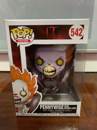 🚚 Pennywise with spider legs funko