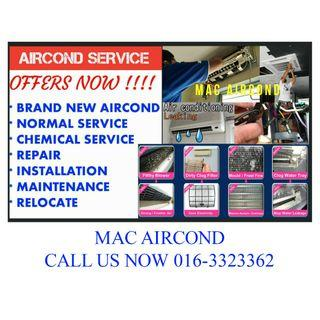 KL / SEL Supply Brand New Aircond & Service Raya Offers Wall / Ceiling Whatsapp for Best Price 016-3323362