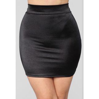 BNWT Fashion Nova Satin Mini Skirt