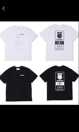 Neighborhood tshirt black (Authentic)
