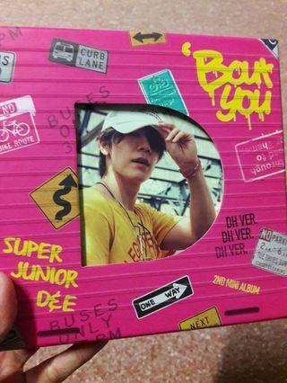 "SJ D&E Album ""Bout You"""