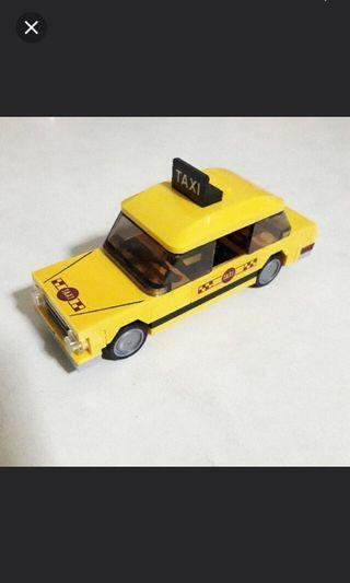 🚚 Lego City Taxi Vehicle