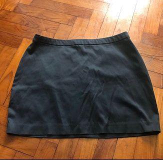 Forever 21 Mini Skirt Black