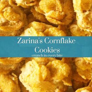 Crunchy Cornflake Cookies